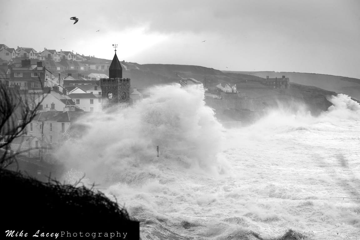 Porthleven Storm Waves Surf Art Gallery Porthleven