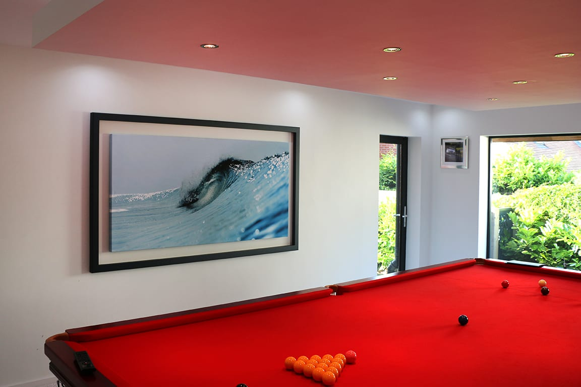 Box frame | Waves Surf Art Gallery - Porthleven | Mike Lacey Photography