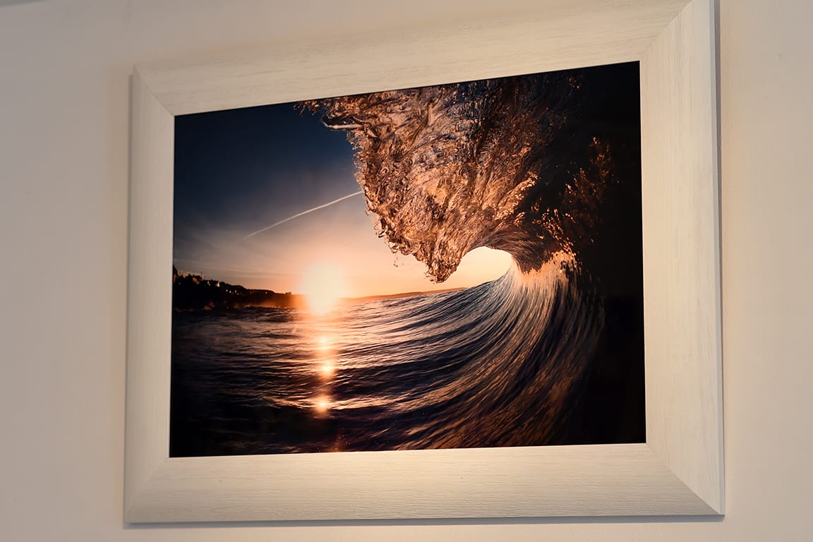 New Hd Metal Prints Waves Surf Art Gallery Porthleven